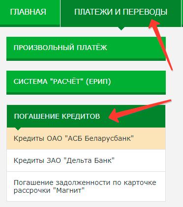 Кредиты через платежи и переводы